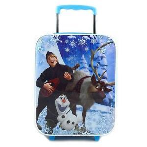 Disney Frozen Rolling Luggage Trolley [Kristoff, Sven and Olaf]