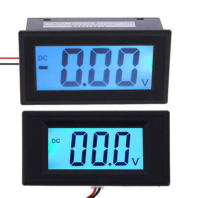 Dc 7-20v7-30v Lcd Two-wire System Digital Panel Meter Voltage Voltmeter New