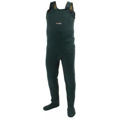 Frogg Toggs 2713143 Amphib Neoprene St/Ft Wader Forest Green XL NEW for sale  Shipping to South Africa