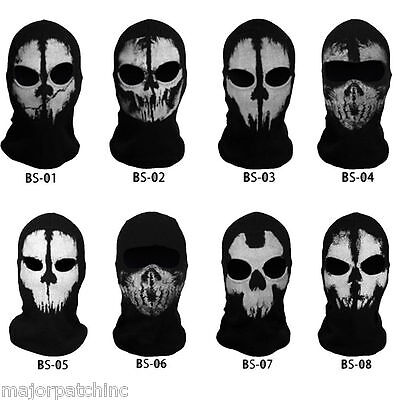 Full Face Mask Costume (COD CALL OF DUTY GHOST RECON FULL SKI FACE MASK BALACLAVA SNOWBOARD COSTUME)