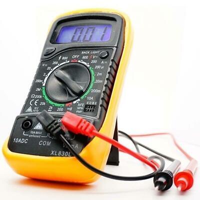 Digital Voltmeter Ammeter Ohmmeter Multimeter Volt Ac Dc Tester Meter Xl-830l Es