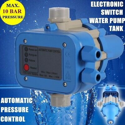 Automatic Electronic Switch Control Unit Water Pump Pressure Controller 110v Usa