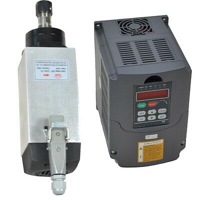 Top Quality 3kw Air Cooled Spindle Motor And 3kw Vfd Frequency Inverter Drive