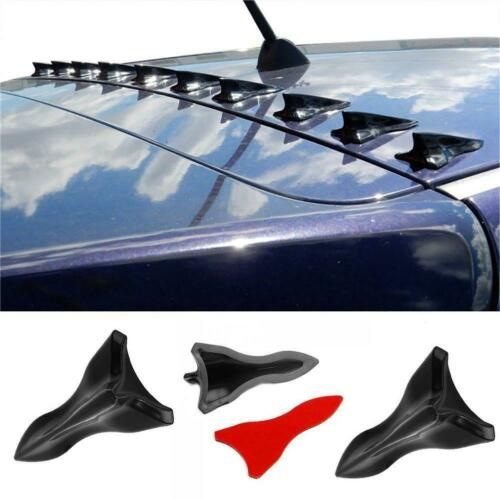 Car Parts - Parts Accessories Carbon Fiber Car Bumper Roof Spoiler Shark Fin Decor Sticker