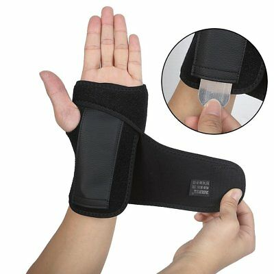 (DOB AOLIKES Carpal Tunnel Wrist Brace with Removable Splint and Adjustable Wrap)