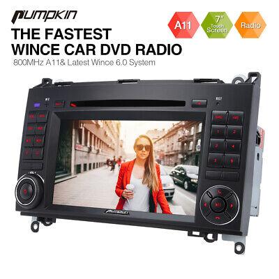 "7"" Autoradio Für Mercedes Benz W639/Vito/Viano/W906 Sprinter/W169 DVD GPS Navi"
