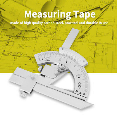 Universal Bevel Protractor 0-320 Precision Angle Measuring Finder Ruler Tools D