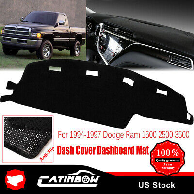 HOT! Dash Cover Dashboard Pad Mat Carpet For 1994-1997 Dodge Ram 1500 2500 3500