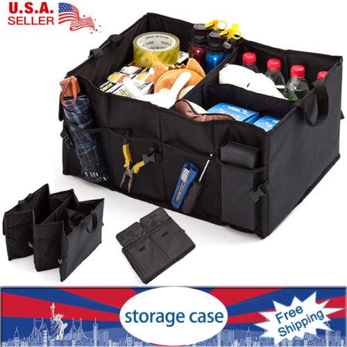 Foldable Storage Trunk Collapsible Bag Multipurpose Car SUV Box Cargo Organizer