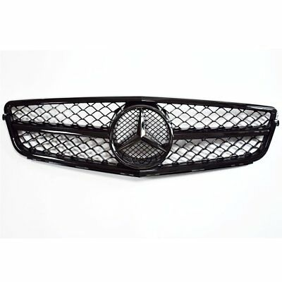 NEW GRILLE GRILL FOR MERCEDES BENZ W204 C63 2008-2013 C-CLASS AMG BLACK From CA