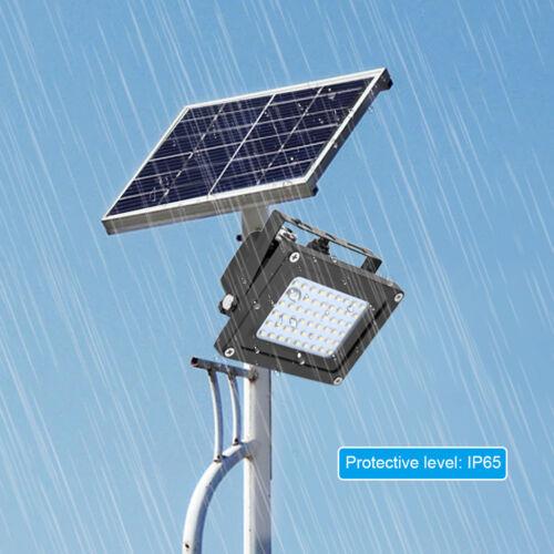 New Solar 54 LED Light Sensor Flood Spot Lamp Garden Outdoor