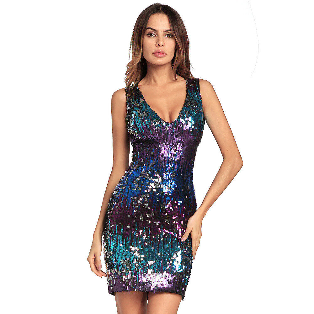 WRAP CLUBBING PARTY BODYCON SLEEVELESS MINI DRESS SIZE S//M AND M//L 522