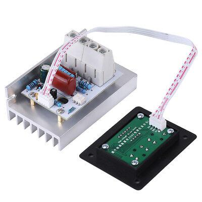 10000w Scr Digital Voltage Regulator Speed Control Dimmer Thermostat Ac 220v New