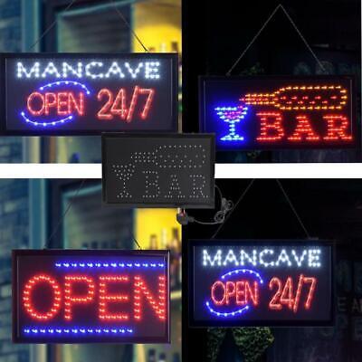 Ultra Bright Pub Led Display Lamp Bar Window Business Sign Light W Onoff Us