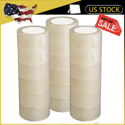 1218 Rolls 2carton Sealing Clear Packing Tape Box Shipping 3 Model 110 Yards