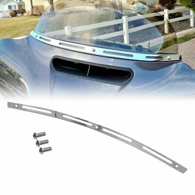 Shallowcut Fairing Windshield Trim For Harley Touring Street Glide 1996-2013 KY