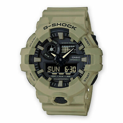 Casio G-Shock Mens Analog-Digital GA700UC-5A Automatic-SelfWind Resin TAN Watch