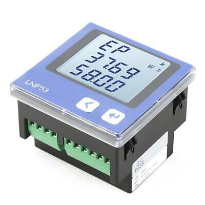Lnf53 Digital Lcd Three-phase Intelligent Power Energy Meter Ac380v 5a-3p4w
