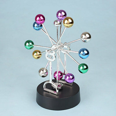 Newton Cradle Fun Balance Balls Physics Pendulum Ferris Wheel Asteroid Decor New