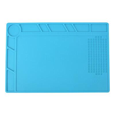 Heat Insulation Silicone Pad Soldering Repair Work Platform Desk Mat Anti-static