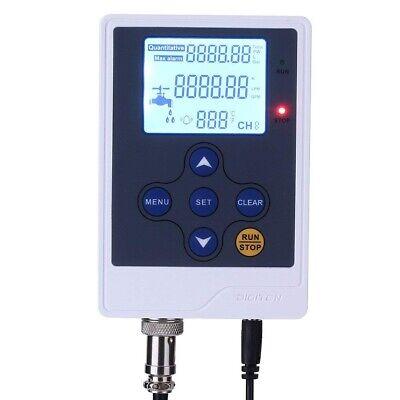 Digiten Water Flow Control Lcd Flow Meter Water Quantitative Meter Dc 12v Power