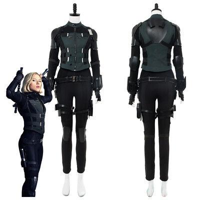 Avengers 3: Infinity War Black Widow Natasha Romanoff Costume Costume Halloween