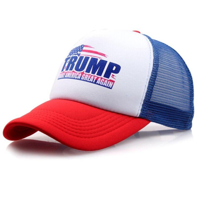 3f7ab39f05de6 Donald Trump 2020 Pence President Trucker Stars Hat Snapback MAGA ...
