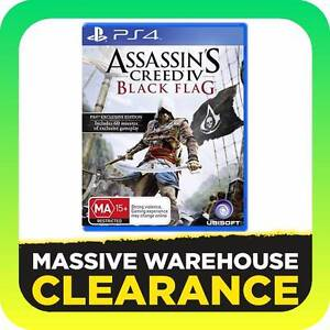 Sony Playstation 4 PS4 Game - Assasin's Creed IV Black Flag Tullamarine Hume Area Preview