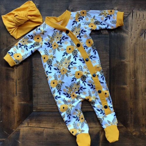 us autumn infant baby girl clothes floral
