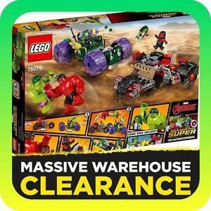 LEGO Super Heroes Hulk vs Red Hulk - 76078 Tullamarine Hume Area Preview