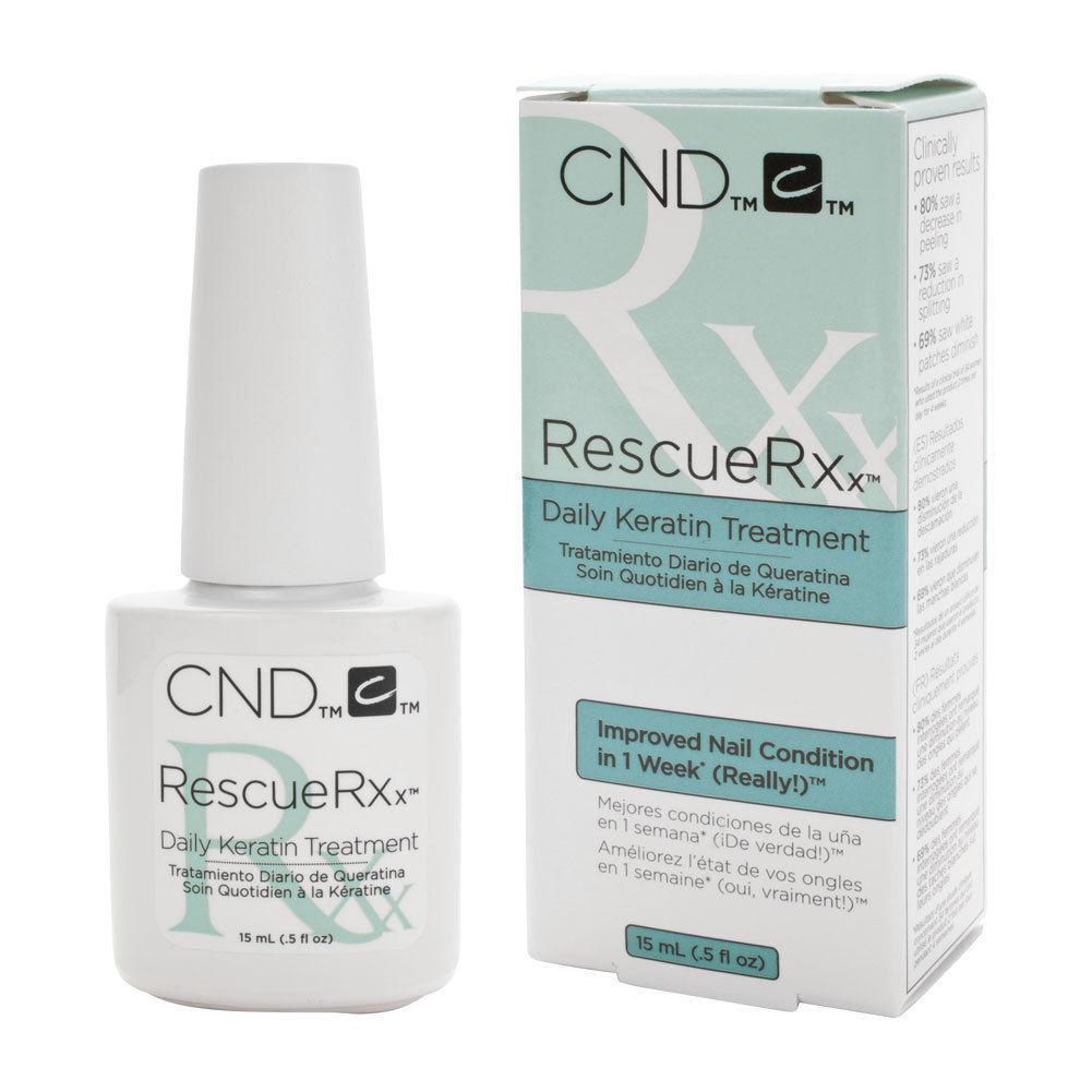 CND RescueRXx Daily Keratin Treatment Nail Conditioner 0.5 Oz | eBay