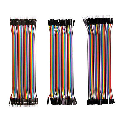 102030cm 40 Pin M-m F-f M-f Breadboard Dupont Jumper Wire Cable For Arduino Bf