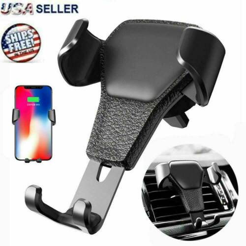 Car Mount Air Vent Phone Holder Cradle for iPhone X XR XS Max Samsung S10 Note9