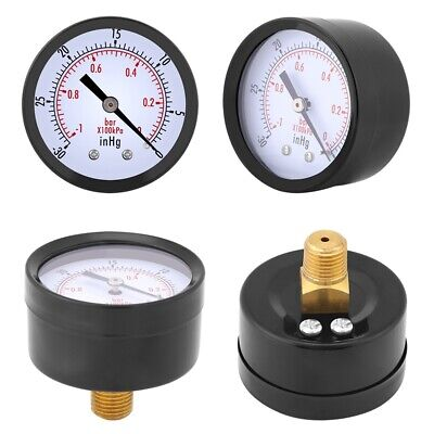 Manometer Gas Tester Air Vacuum Pressure Gauge Pressure Gauge For Water Pressure