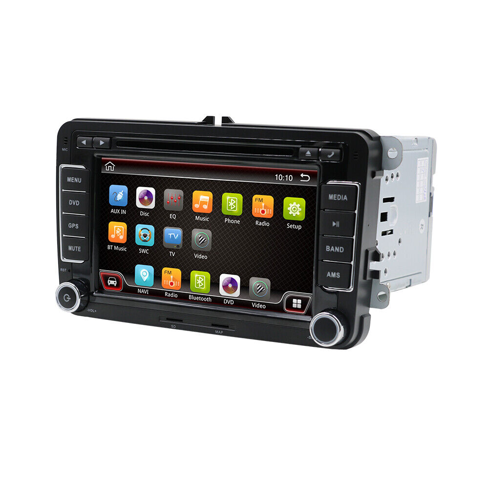 android 7 1 autoradio navi gps dvd f r vw golf 5 passat. Black Bedroom Furniture Sets. Home Design Ideas
