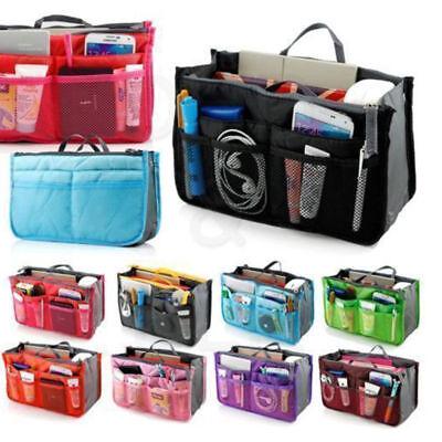 Bag Organizer Insert - Lady Women Insert Handbag Organiser Purse Large liner Organizer Bag Tidy Travel~