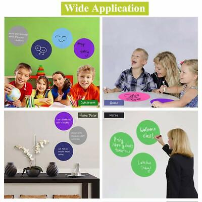 Dry Erase Dots (7 Pcs Dry Erase White Board Marker Removable Vinyl Dot Circle Set for Teaching)