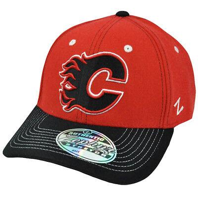 Zephyr Nhl Hut (NHL Lnh Zephyr Jumbotron Flex Passend für Stretch Zhat Herren Hut Calgary Flames)