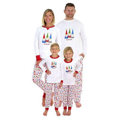 Urlaub Pyjamas Familie (Urlaub Familie Matching Pyjamas Set Weihnachtsmann Drucken Homewear Nachtwäsche)
