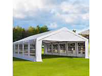 Marquee Hire from £40.00. Chair from £2.00 and table from £5.00 Cover all uk