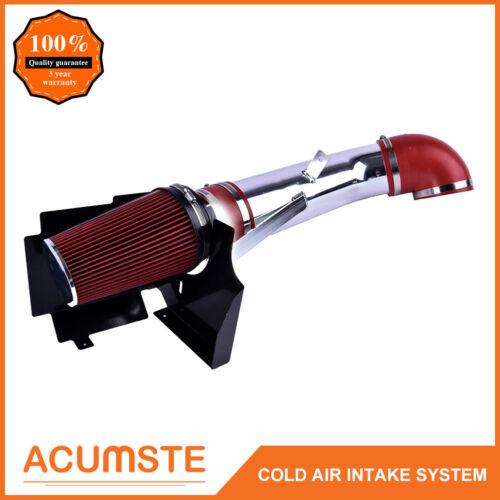 For Escalade Avalanche Silverado Suburban Cold Air Intake Kit+Filter+Heat Shield