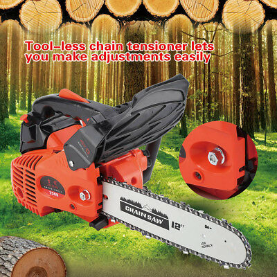 900W Gasoline Chainsaw Wood Grinding Machine Wraparound Handle With Soft Handle