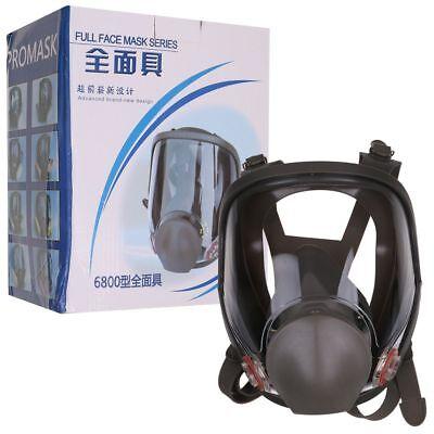 6800 Gas Mask Full Face Facepiece Respirator Painting Spraying Medium 3m Style