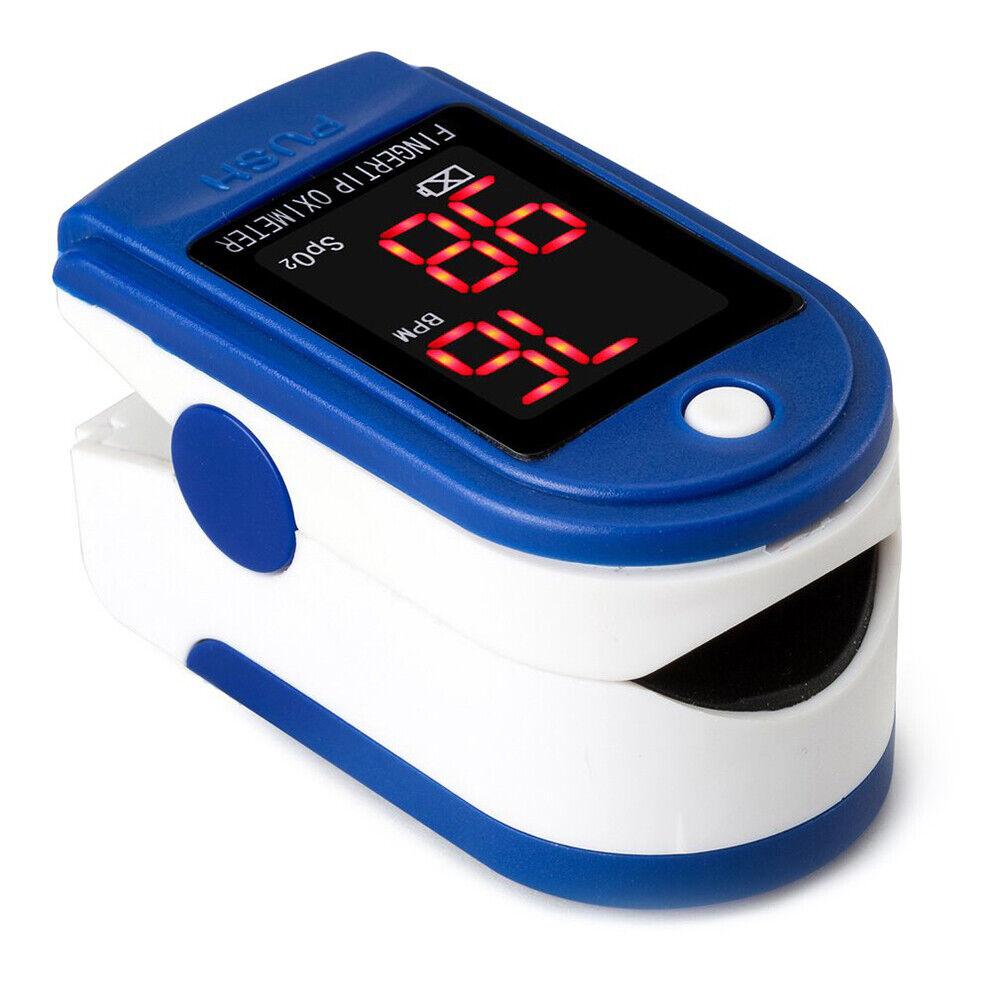 Finger Pulse LED Oximeter Blood Oxygen Saturation SPO2 Heart