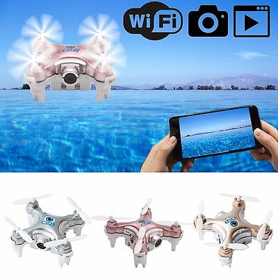 Cheerson Mini CX-10W FPV Quadcopter 2.4G 4CH 6 Axis 0.3MP RC Drone With Camera