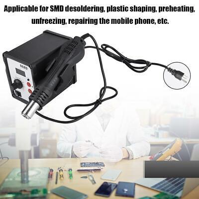 868d Digital Display Heat Gun Rework Station Precise Temperature Control 110v