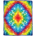 Fleece Tie-dye Afghans & Throw Blankets