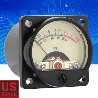 High-precision Panel Meters Db Level Header Vu Meter Audio Power Amplifier Us