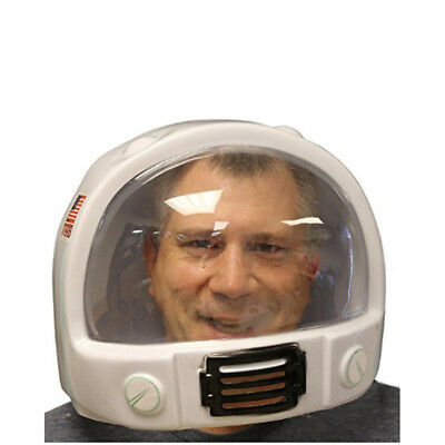Plastic Astronaut Helmet Space USA NASA Mask Adult Costume Interstellar Gravity