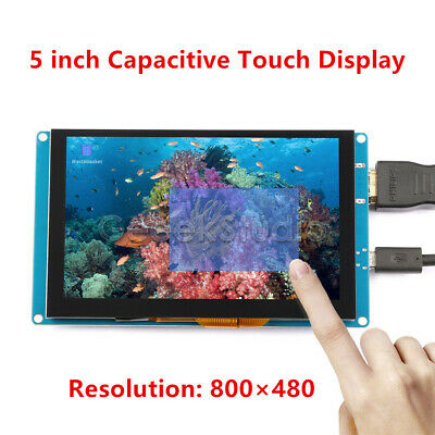 5 Inch 800*480 Capacitive Touch Screen LCD Display For Raspberry Pi